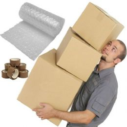 Cardboard House Moving Boxes - Removal Packing box