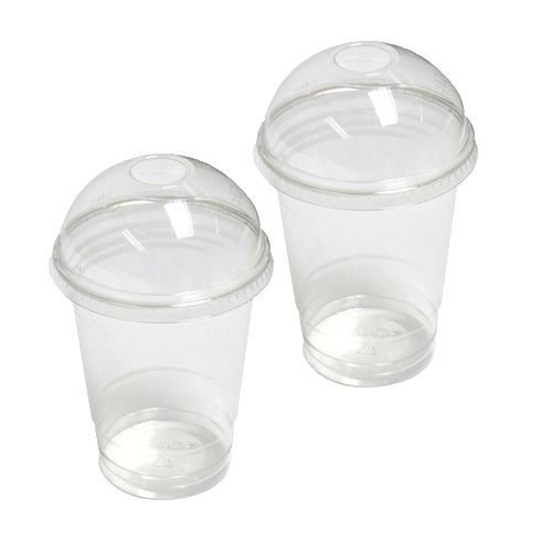 12oz Smoothie Cups With Lids. Click image for larger view
