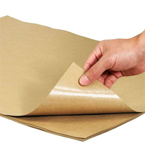 Brown Kraft Wrapping Paper 500x750mm 40gsm
