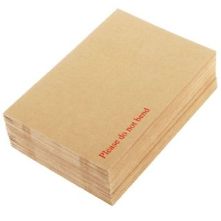"A4 Strong Board Backed Envelopes /""DO NOT BEND/"" 125 C4"