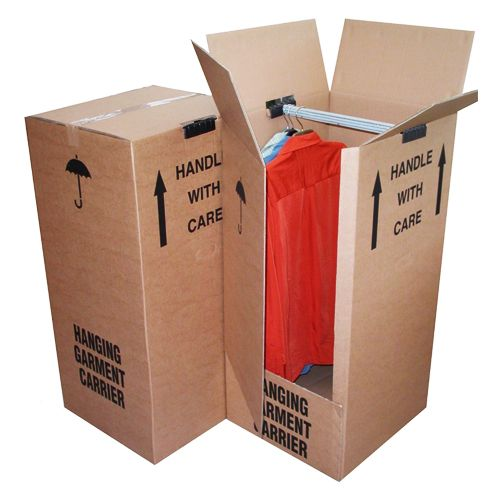 Large Strong Double Wall Garment Wardrobe Removal Boxes